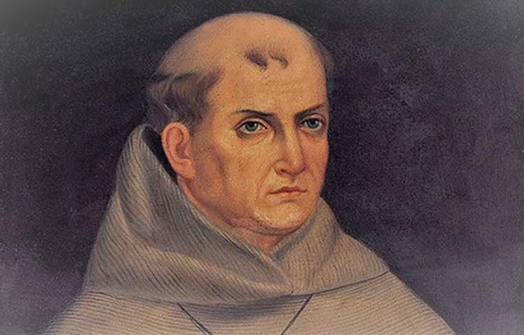 Fr. Junipero Serra (1713-1784), Franciscan priest and missionary.