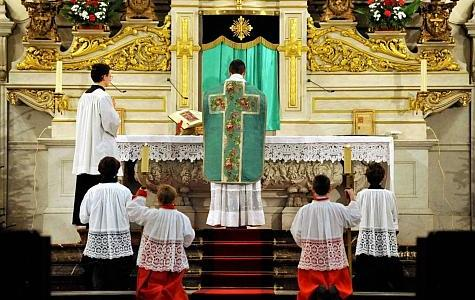 Celebrating Traditional Latin Mass