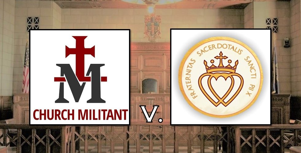Church Militant v  Fr  McLucas & SSPX: Setting the Record