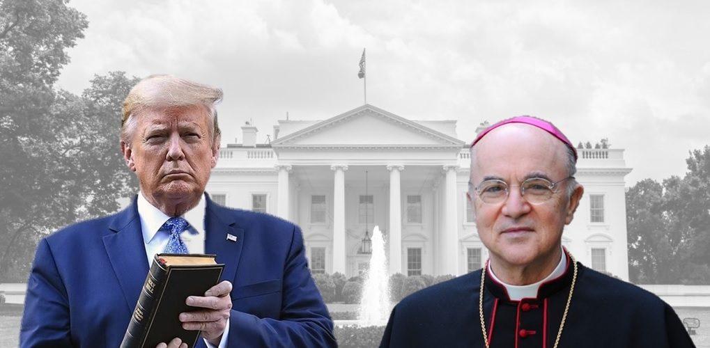 Trump und Bischof Vigano