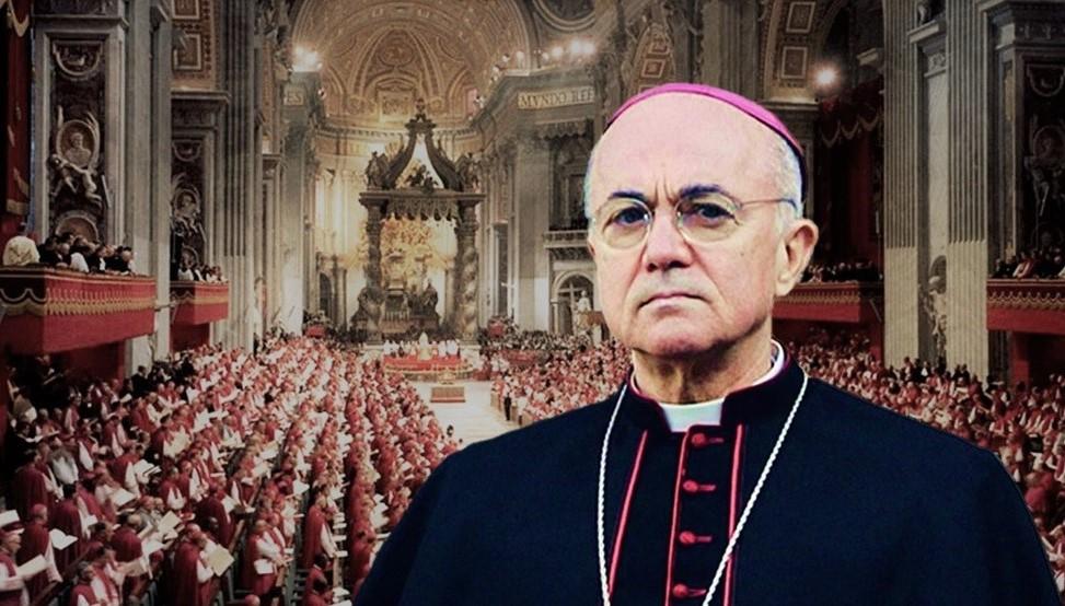 """Arcebispo Viganò no Vaticano II: """"É preferível deixar que tudo corra e se esqueça"""""""